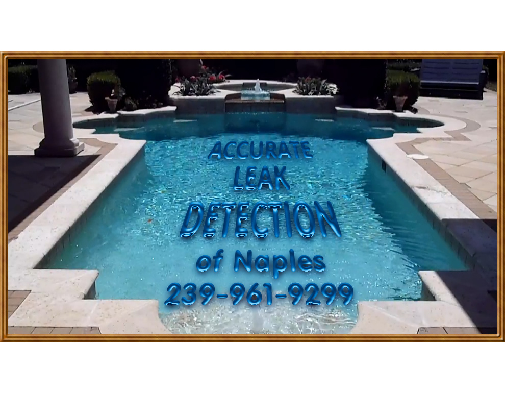 Swimming Pool Leak Detection : Pool leak pictures